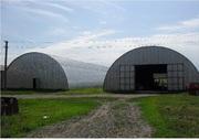 Металлоконструкции,  быстровозводимые здания,  каркасные арочные ангары